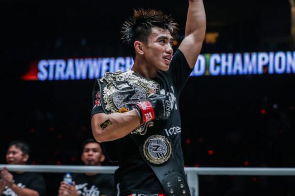 ONE Strawweight World Champion Joshua Pacio
