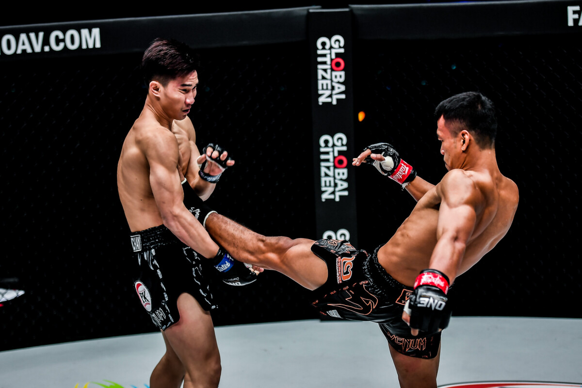 Pictures from the Muay Thai dream match between Sitthichai and Tawanchai at ONE: BATTLEGROUND III