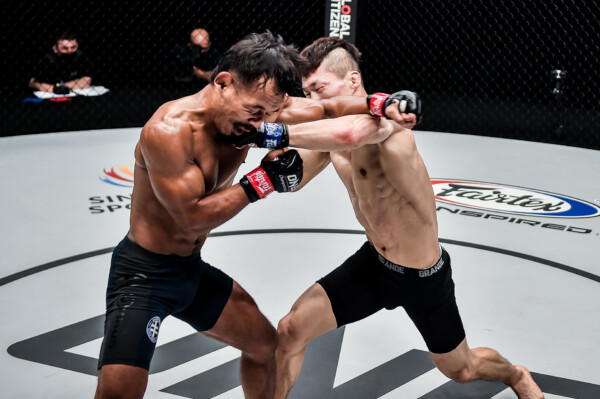 Pictures from the bout between Tial Thang and Song Min Jong at ONE: BATTLEGROUND III