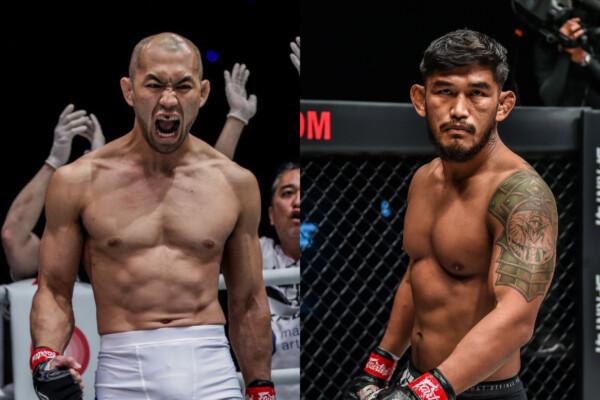 Middleweight MMA contenders Yushin Okami and Aung Ła N Sang