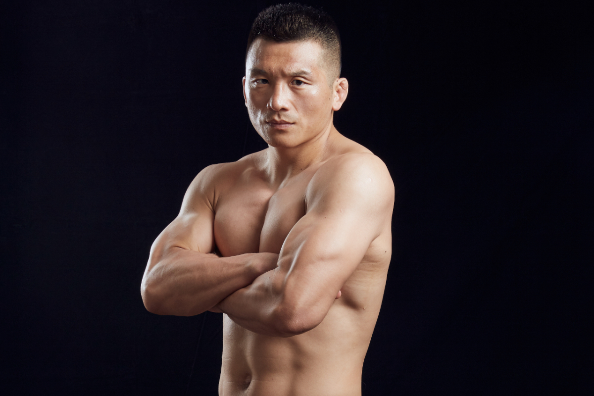 Chinese MMA fighter Zhang Lipeng is ready for Eduard Folayang