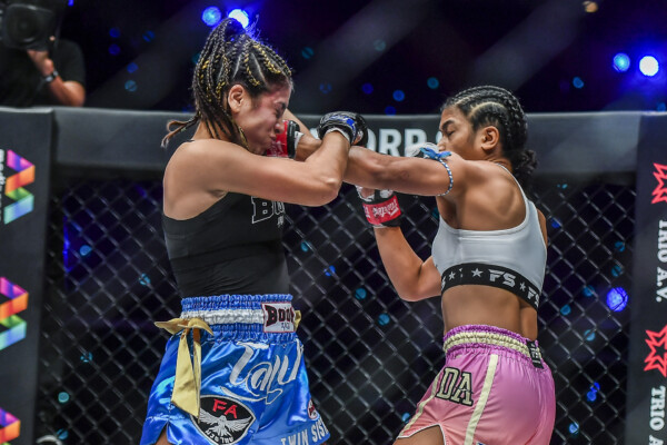 Pictures from the bout between Jackie Buntan and Daniela Lopez from ONE: EMPOWER