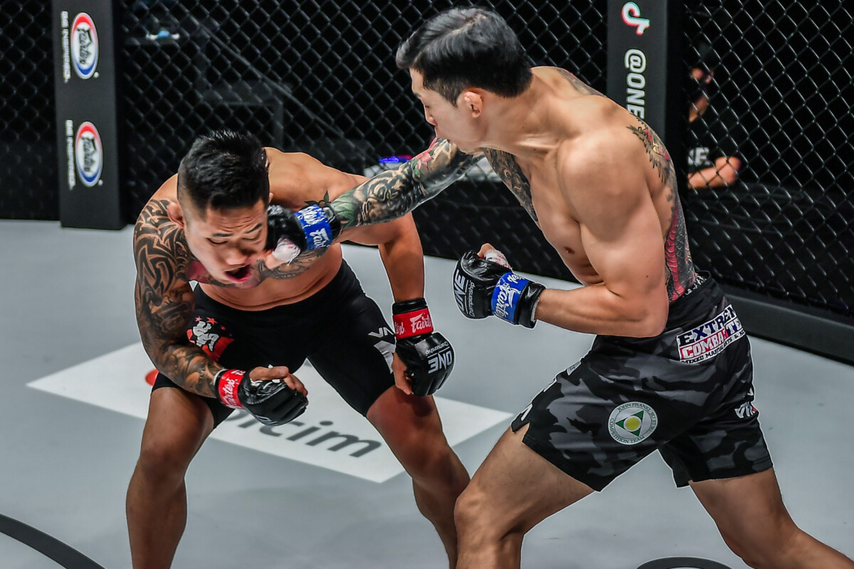 Kim Jae Woong knocks out Martin Nguyen at ONE: REVOLUTION