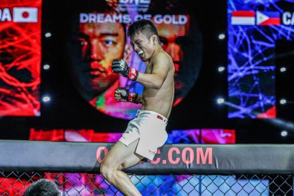 Ryuto Sawada submits Aziz Calim at DREAMS OF GOLD