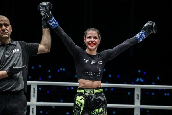 Viktoria Lipianska defeats Amber Kitchen at ONE: IMMORTAL TRIUMPH via split decision