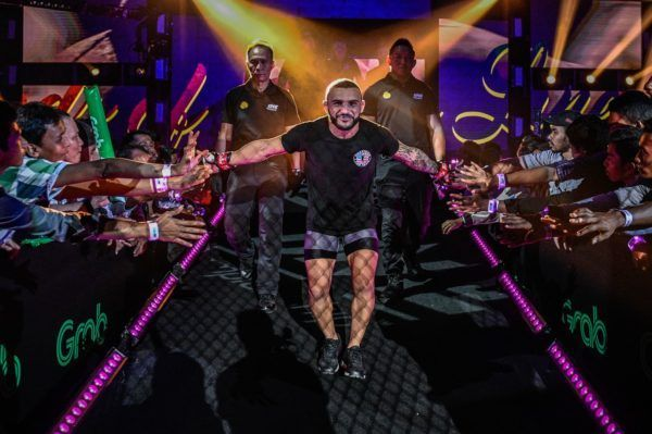 Brazilian martial artist John Lineker makes his way down to the Circle for his ONE debut in October 2019