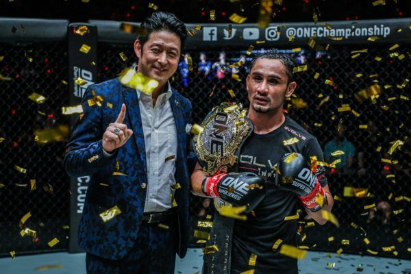Inaugural ONE Strawweight Kickboxing World Champion Sam-A Gaiyanghadao