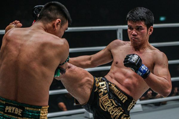Thailand superstars Petchmorakot Petchyindee Academy and Pongsiri PK.Saenchaimuaythaigym compete for the inaugural ONE Featherweight Muay Thai World Title