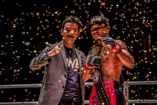 ONE Flyweight Muay Thai World Champion Rodtang Jitmuangnon