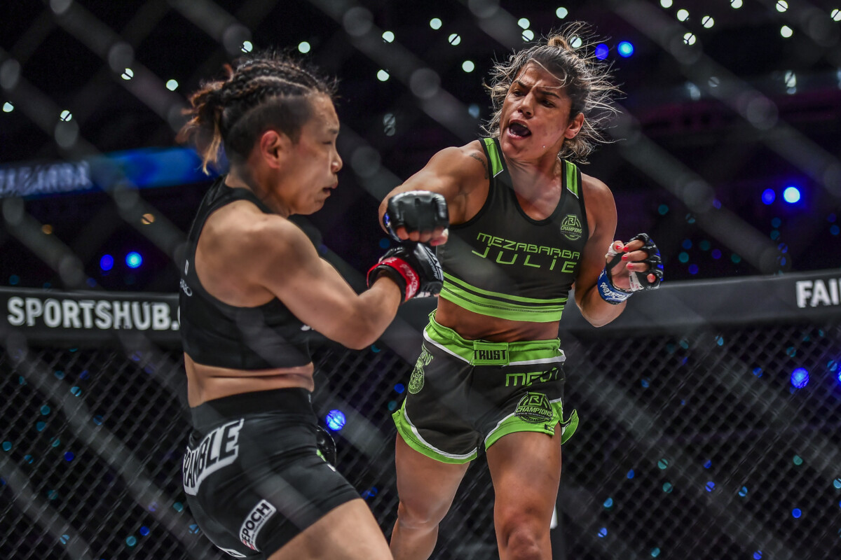 Pictures from the match between Julie Mezabarba and Mei Yamaguchi from ONE: EMPOWER