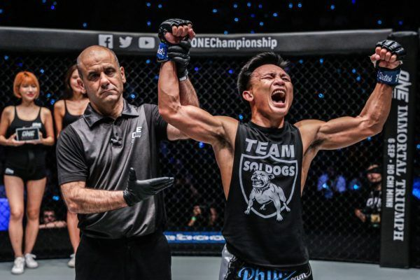 Lerdsila Phuket Top Team defeats Savvas Michael at ONE DREAMS OF GOLD