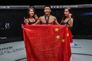 Zhao Zhi Kang defeats Paul Lumihi by submission at ONE: DREAMS OF GOLD