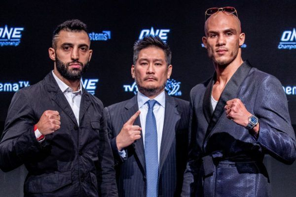 Giorgio Petrosyan and Samy Sana will compete in the ONE Featherweight Kickboxing World Grand Prix Championship Final