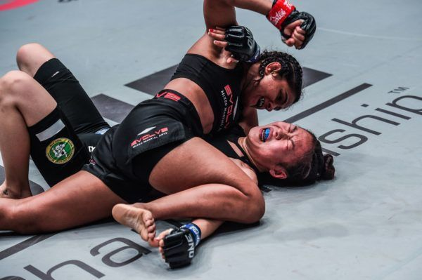 "Ritu ""The Indian Tigress"" Phogat defeats Nam Hee Kim at ONE AGE OF DRAGONS"