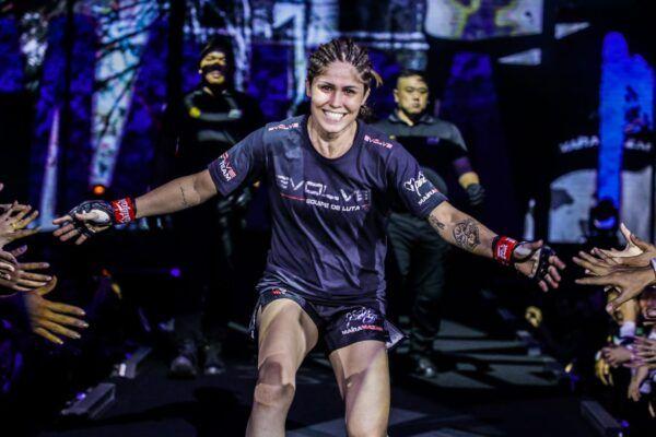 Brazilian MMA fighter Maira Mazar