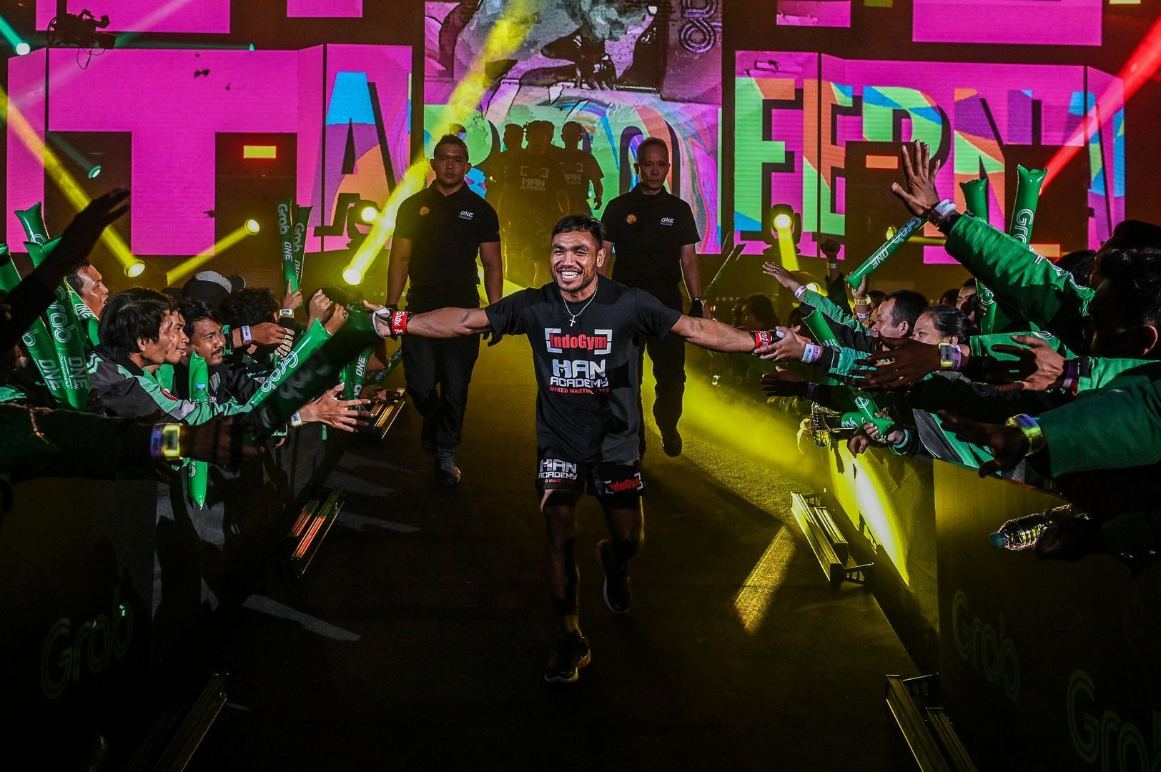 Indonesia's own Abro Fernandes makes his entrance in Jakarta