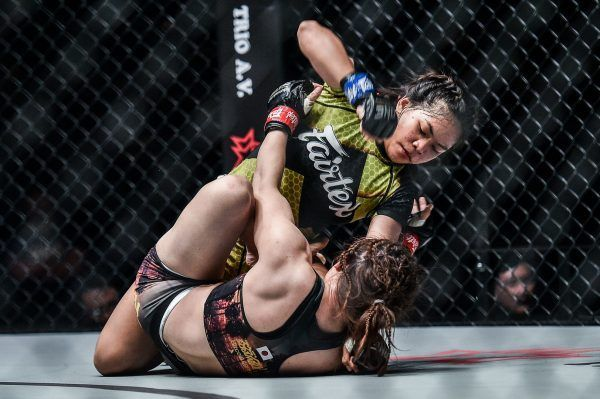Denice Zamboanga defeats Mei Yamaguchi at ONE KING OF THE JUNGLE