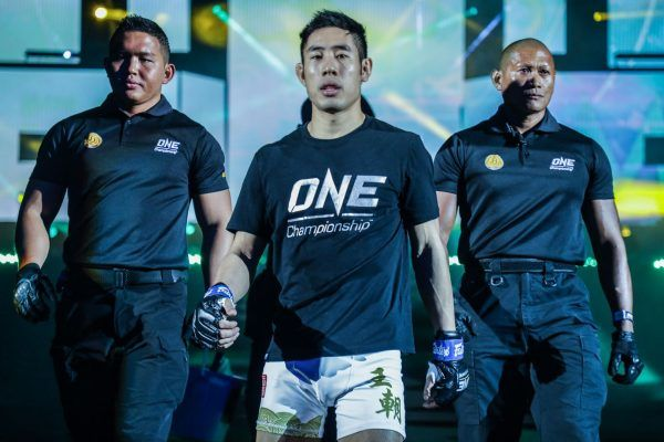 Jeff Chan makes his way to the ONE Circle at ONE: KING OF THE JUNGLE.