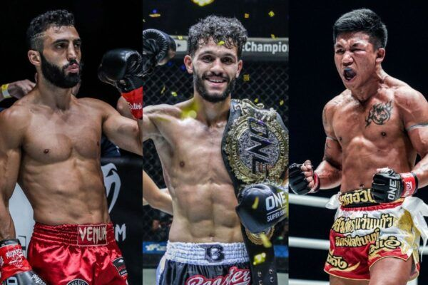 Kickboxers Giorgio Petrosyan, Ilias Ennahachi, and Rodtang Jitmuangnon will headline ONE: FISTS OF FURY on 26 February
