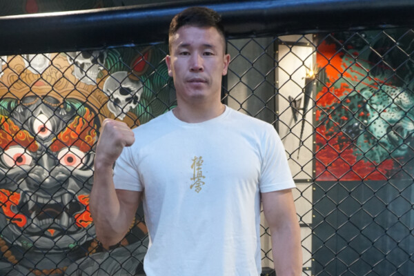 Otgonbaatar Nergui finishes his training ahead of his debut at ONE: BATTLEGROUND II