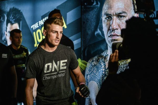"Jonathan ""The General"" Haggerty makes the walk for his ONE World Title defense in Manila."