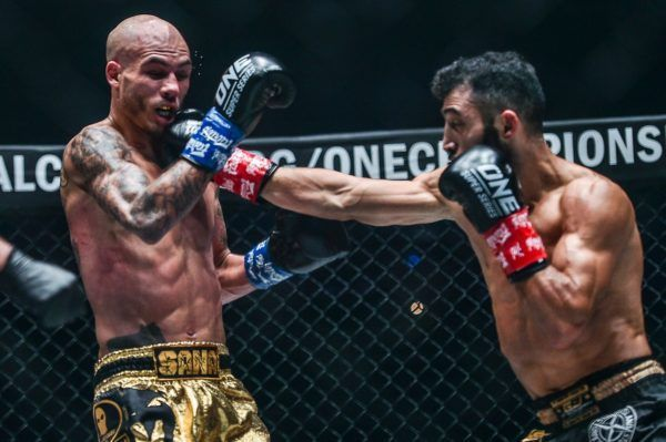 Giorgio Petrosyan puts on a show against Samy Sana At ONE CENTURY PART II
