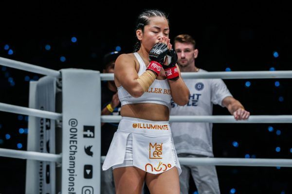 Vietnamese-American Bi Nguyen gets ready for battle in her homeland