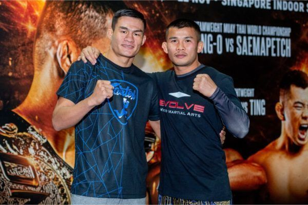 Saemapetch Fairtex vs Nong-O Gaiyanghadao at ONE EDGE OF GREATNESS open workout