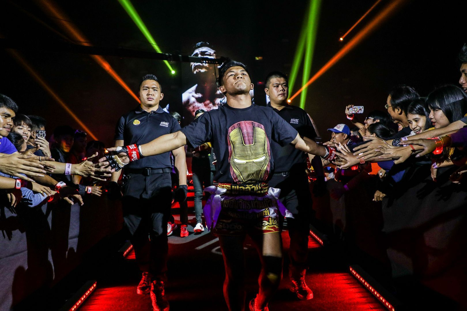 Rodtang Jitmuangnon makes his entrance at ONE A NEW TOMORROW