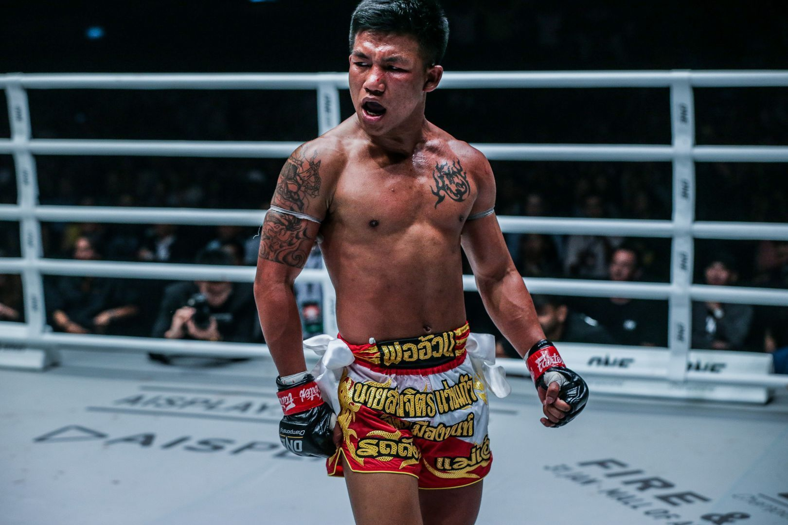 ONE Flyweight Muay Thai World Champ Rodtang Jitmuangnon stands tall in his victory over Jonathan Haggerty in January 2020