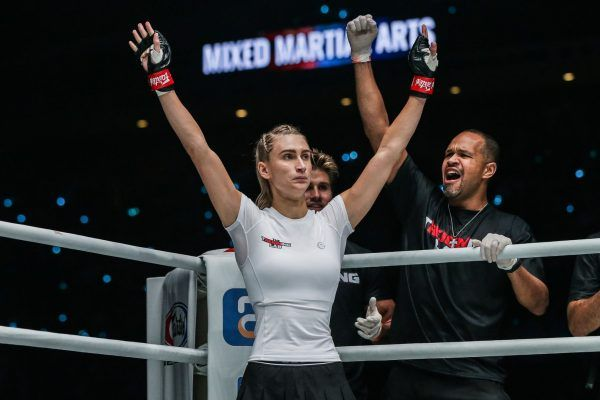American mixed martial artist Colbey Northcutt makes her ONE Debut