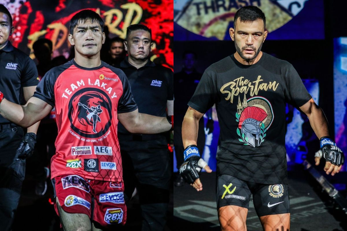 Mixed martial artists Eduard Folayang and Antonio Caruso will fight at ONE: INSIDE THE MATRIX