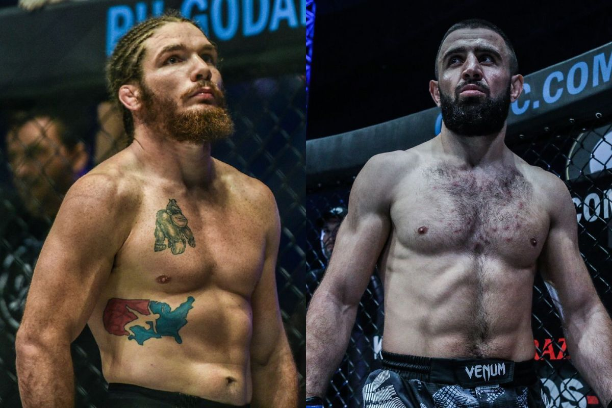 ONE Welterweight World Title showdown between mma fighters James Nakashima and reigning champion Kiamrian Abbasov