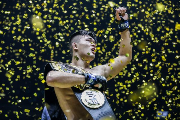Singaporean-American mixed martial arts superstar Christian Lee
