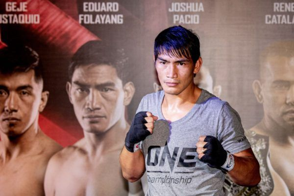Eduard Folayang open Workout