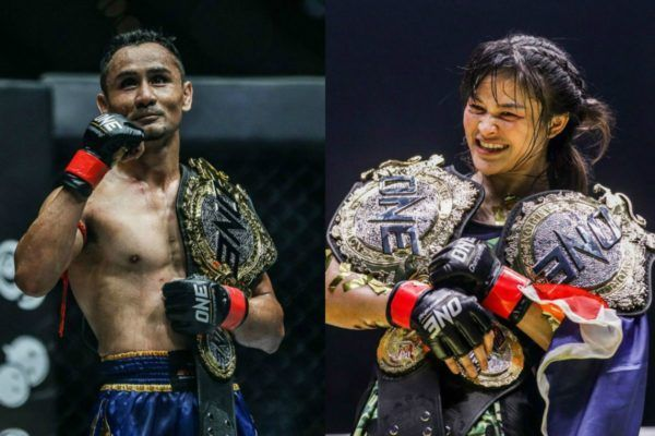ONE Strawweight Kickboxing World Champion Sam-A Gaiyanghadao and two-sport ONE World Champion Stamp Fairtex to headline ONE: KING OF THE JUNGLE on 28 February