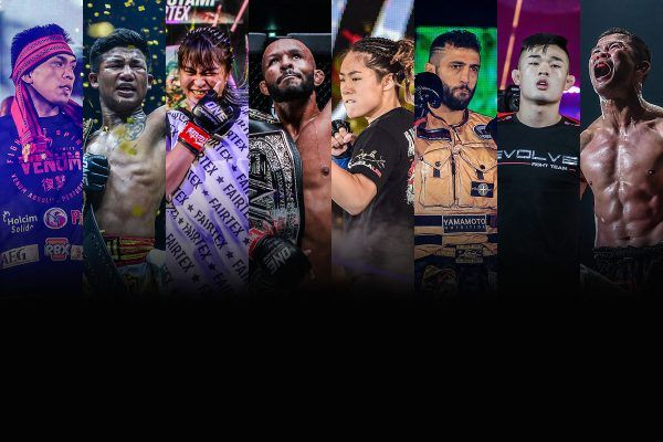 ONE Championship First Official Athlete Rankings