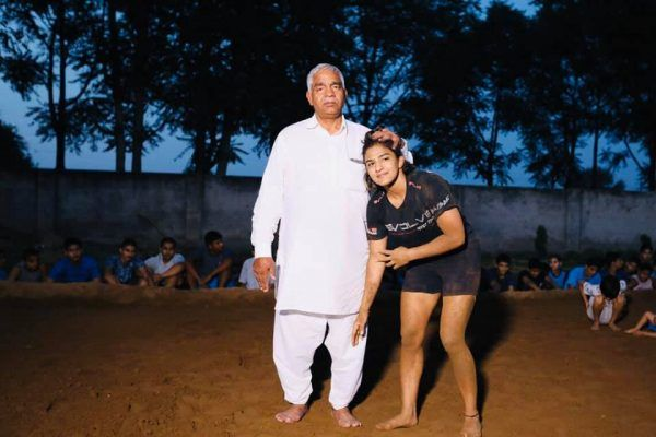 Ritu phogat and his father