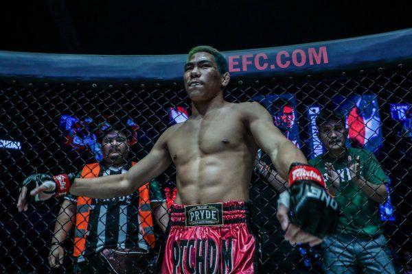 Muay Thai fighter Petchdam Petchyindee Academy is ready for his fight
