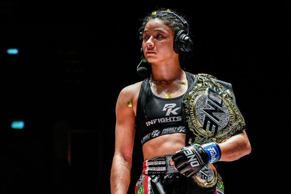 New ONE Atomweight Muay Thai World Champion Allycia Hellen Rodrigues