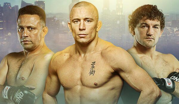 Mixed Martial Arts legends Renzo Gracie, Georges St-Pierre, and Ben Askren
