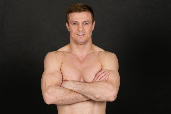 Russian kickboxer Ivan Kondratev