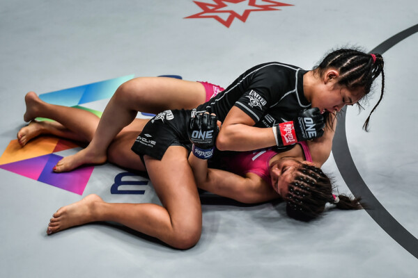 Pictures from the fight between Victoria Lee and Victoria Souza at ONE: REVOLUTION