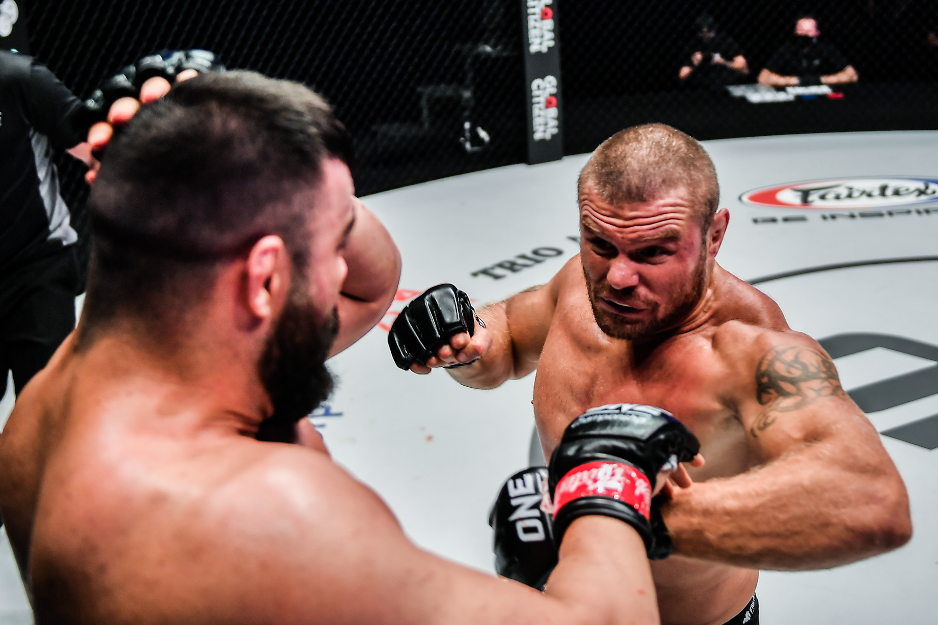 Pictures of the MMA fight between Anatoly Malykhin and Amir Aliakbari from ONE: REVOLUTION
