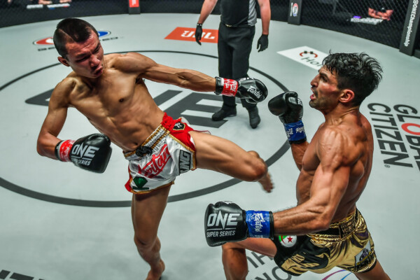 Pictures from the kickboxing clash between Capitan and Mehdi Zatout at ONE: REVOLUTION