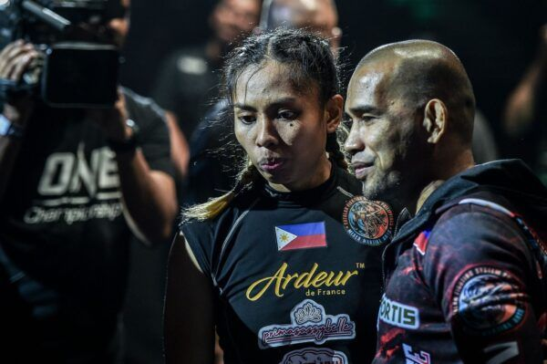 MMA star Jomary Torres with Rene Catalan