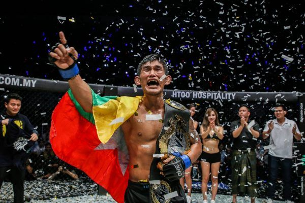 ONE Middleweight And Light Heavyweight World Champion Aung La N Sang