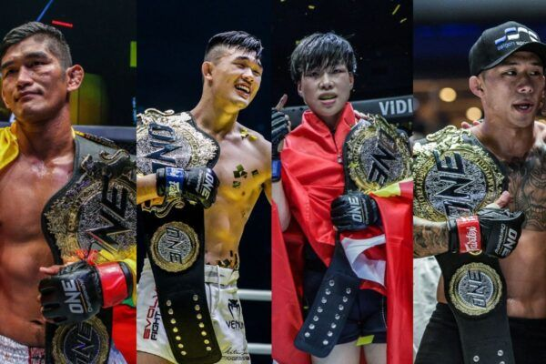 ONE World Champions Aung La N Sang, Christian Lee, Xiong Jing Nan, and Martin Nguyen headline ONE: INSIDE THE MATRIX on 30 October